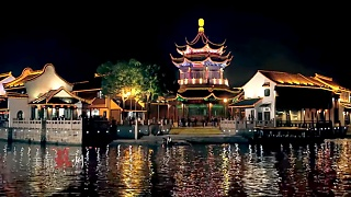 The beautiful ancient water town of WuZhen 乌镇
