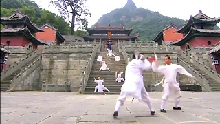 WuDang Mountain 武当山, HuBei province, home of Taoism and WuShu