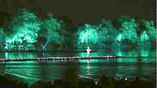 Video : China : Beautiful scenes from the show 'Impression West Lake' 印象西湖