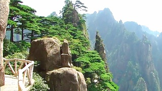 Exploring the beautiful HuangShan 黄山 mountain; part 1 (4/8)