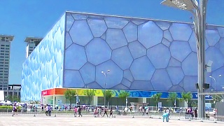 Video : China : The Olympic Green Village in BeiJing 北京