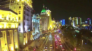 Video : China : ShangHai 上海 night flight, plus daytime air-wheeling