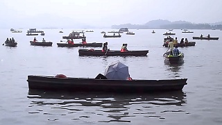 Video : China : A day at the West Lake 西湖 in HangZhou 杭州