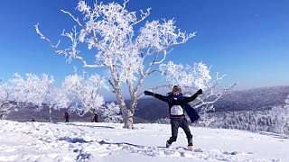 Winter wonderland fun trip near Harbin 哈尔滨