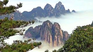 Video : China : Beautiful scenes from HuangShan 黄山