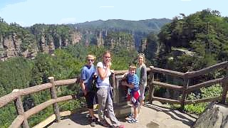 A wonderful family trip through China 中国