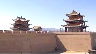 JiaYuGuan 嘉峪关 - the western end of the Great Wall of China
