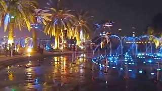 ChongQing  重庆 musical fountains night shows