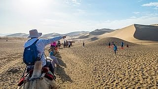 Fun adventures in DunHuang 敦煌, western GanSu province