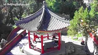 The beautiful BeiHai Park 北海公园 in central BeiJing – video