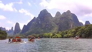 The Li River 漓江 and GuiLin 桂林 night cruise