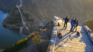 Video : China : The Great Wall of China 长城 in autumn