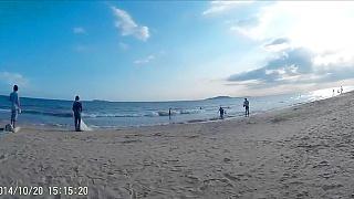 Video : China : Sanya 三亚 bay, HaiNan island