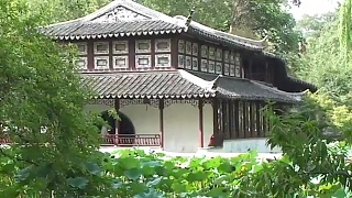The gardens of SuZhou 苏州, JiangSu province