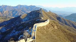 JinShanLing 金山岭 Great Wall from the air
