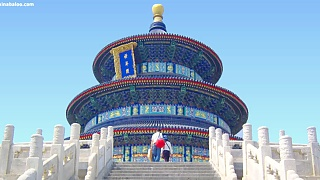 The beautiful Temple of Heaven 天坛, BeiJing – slideshow – video