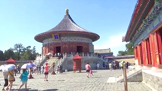 The beautiful, and lively, Temple of Heaven 天坛 in BeiJing