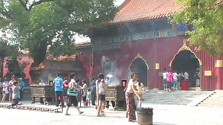 The YongHeGong 雍和宫 Lama Temple and the Confucius Temple 孔子寺庙, BeiJing