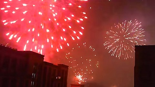 Chinese New Year : The people's fireworks, ChengDu 成都
