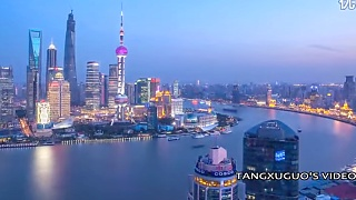 ShangHai 上海 city in timelapse