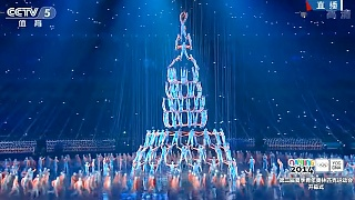 Video : China : A beautiful performance at the NanJing 南京 Youth Olympics 2014