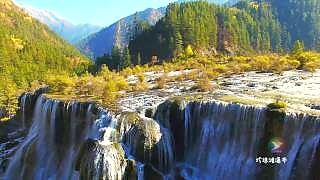 Video : China : JiuZhaiGou 九寨沟 Nature Reserve, SiChuan province (slideshow)