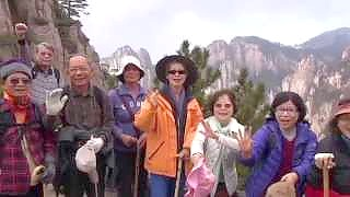 A trip to the beautiful HuangShan 黄山 mountain – video