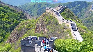 Video : China : The Great Wall at BaDaLing 八达岭 (slideshow), BeiJing 北京