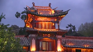 Beautiful LiJiang 丽江 at night ...