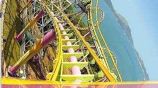 The Dragon roller coaster, Ocean Park, Hong Kong 香港