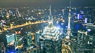 Video : China : ShangHai 上海 in time-lapse