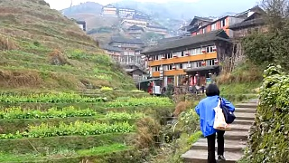 Views of the LongSheng, LongJi Rice Terraces 龙胜梯田, GuangXi