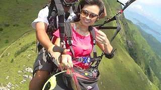 Paragliding in Hong Kong 香港