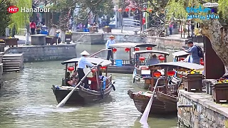 Video : China : Beautiful ZhuJiaJiao 朱家角 water-town, ShangHai