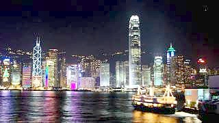 Video : China : Hong Kong 香港 time-lapse scenes