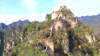 Hiking the wild Great Wall 长城