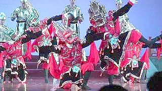 Traditional music and dance at Xi'An 西安