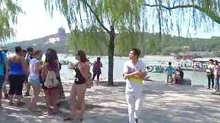 A trip to the beautiful Summer Palace 頤和園 in Beijing