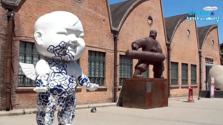 The 798 Art District, DaShanZi 大山子, BeiJing – video
