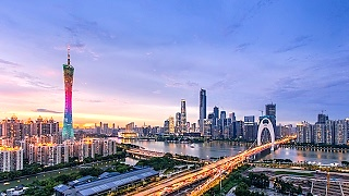 Video : China : GuangZhou 广州 in time lapse ...