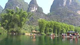 The unforgettable YuLong River 遇龙河, YangShuo 阳朔 and Impression Liu SanJie 印象刘三姐