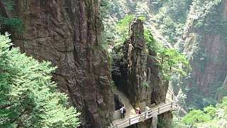 Exploring the beautiful HuangShan 黄山 mountain; part 1 (3/8)