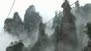 Video : China : A trip to ZhangJiaJie 张家界, HuNan province