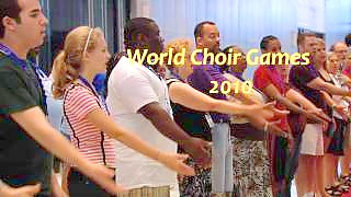 Video : China : The World Choir Games 2010 in ShaoXing 绍兴