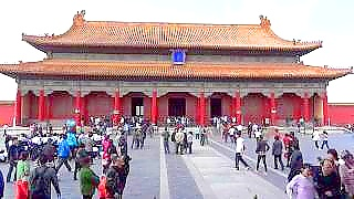A walk through the beautiful Forbidden City 紫禁城, BeiJing