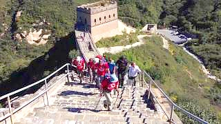 A trip to the Great Wall 长城 of China near BeiJing