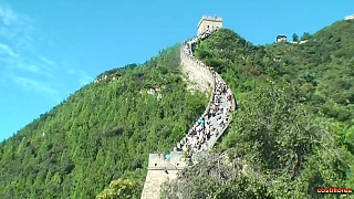 Video : China : The Great Wall at JuYongGuan 居庸关, Beijing