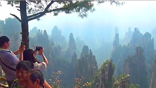 The beautiful ZhangJiaJie 张家界, HuNan province