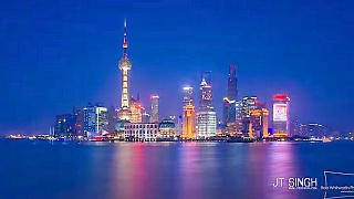 Here is ShangHai 上海