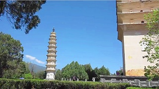 Video : China : The Three Pagodas of ChongSheng Temple 崇圣寺三塔, DaLi, YunNan